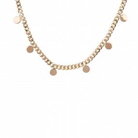Collar Choker Quotidian Oro