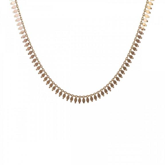 Collar Choker Natural Oro