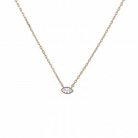 Collar Sweet-Talk Blanco Oro
