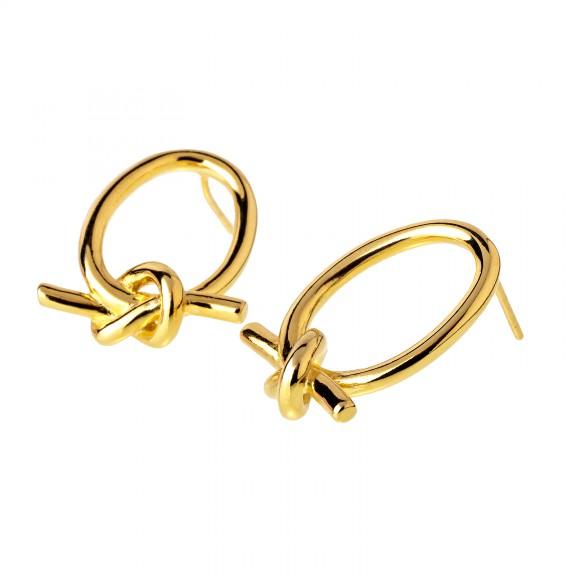 Pendientes Union Oro